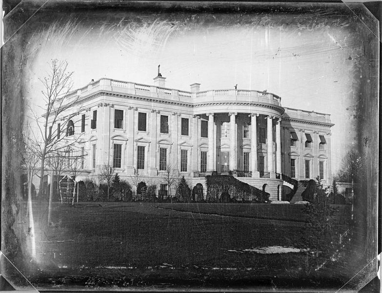 The White House, as Photographed by John Plumbe in 1846