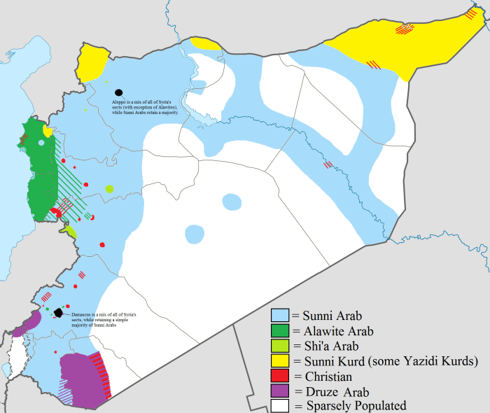 Syria's Ethnicities: the Alawite Enclave and Al-Qusayr Corridor