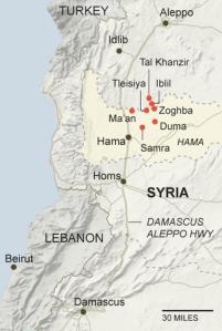 Hama offensive